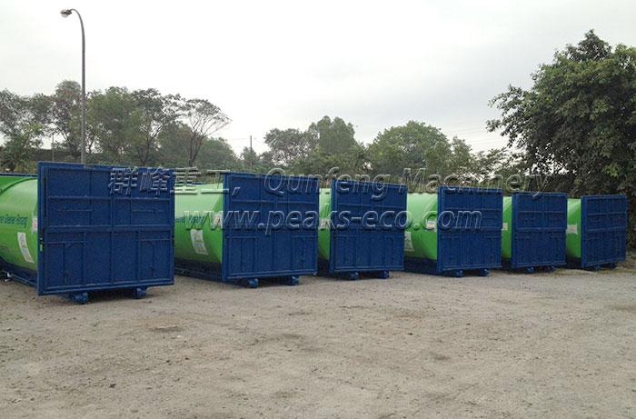 竖式垃圾转运站系统