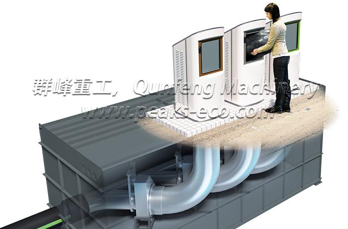 垃圾真空管道自动回收系统