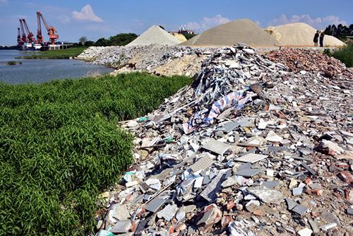 群峰重工移动回收工厂,完美击破建筑垃圾回收利用痛点