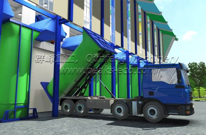 Vertical Waste transfer Station System